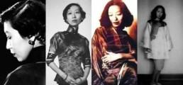 evolution qipao cheongsam dress A qipao lover- Eileen Chang, Famous writer source: senseofchina.com