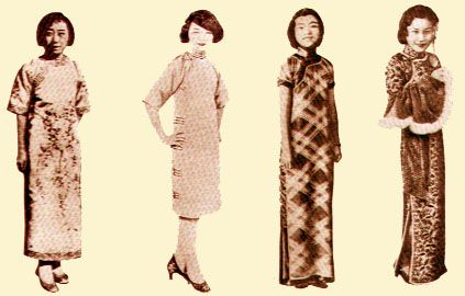 5068de2a6 evolution qipao cheongsam dress- History of traditional chinese dress