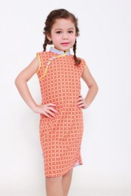 little qipao girls dress