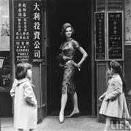 evolution qipao cheongsam dress cheongsam 1950s-hk-pinterest