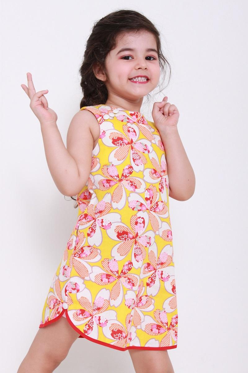 toddler dress yellow