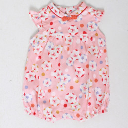 cny baby romper chinoiserie